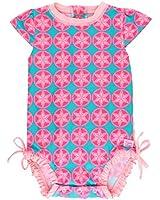 RuffleButts Infant/Toddler Girls Floral &...