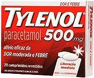 Tylenol 500mg com 20 Comprimidos