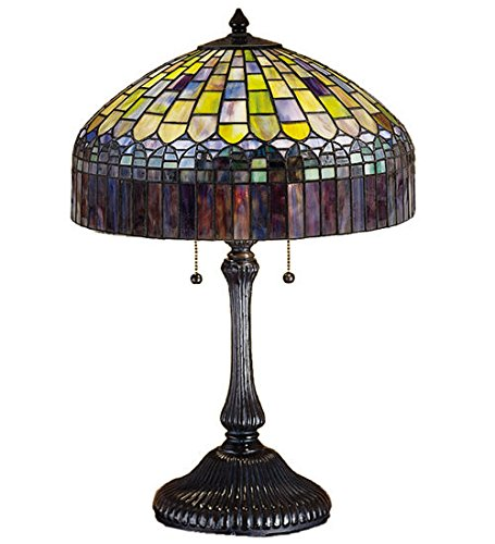 Tiffany Style Stained Glass Candice Table Lamp