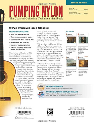 Pumping Nylon: The Classical Guitarists Technique Handbook, Book & Online Audio: Amazon.es: Scott Tennant: Libros en idiomas extranjeros
