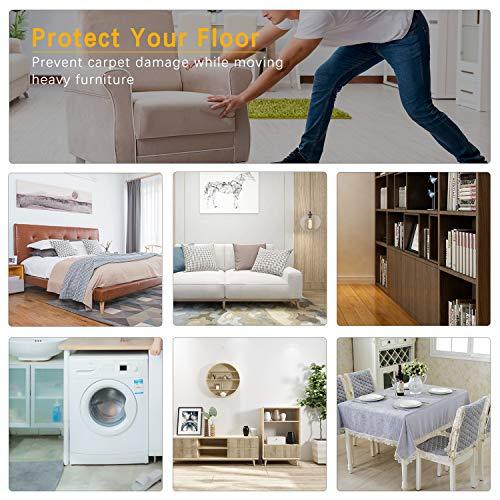 SelfTek 8 piezas Deslizadores para muebles Muebles ...