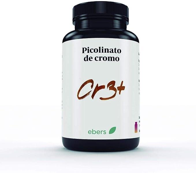 Picolinato de cromo 322 mg Ebers, 60 comprimidos: Amazon.es: Salud ...