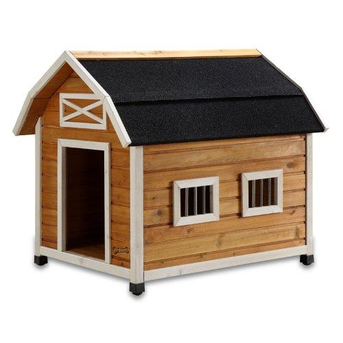 Pet Squeak The Barn Dog House, Large