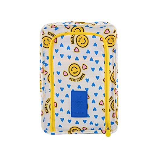 Reisen Tragbare Verpackung Cube Organizer-Schuh-Beutel-Beutel,C