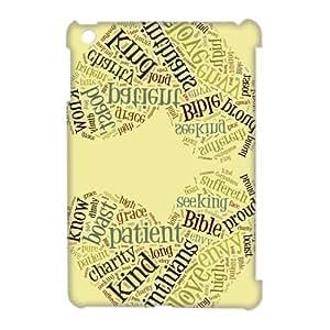 CTSLR Bible Quote Hard Case Cover Skin for iPad Mini and iPad Mini 2 Retina Display-1 Pack- 6