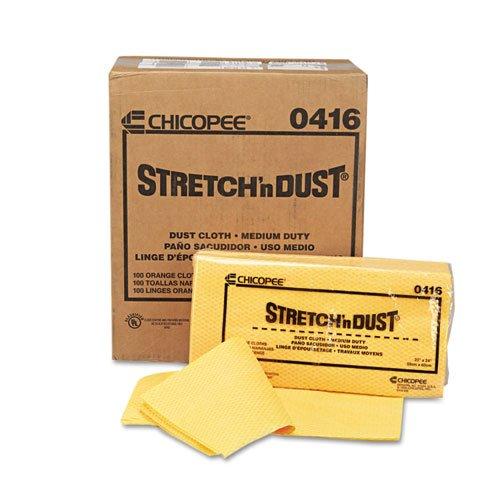 Amazon.com : Chix - Stretch n Dust Cloths, 23 1/4 x 24, Orange/Yellow, 20/Bag, 5 Bags/Carton 0416 (DMi CT : Office Products