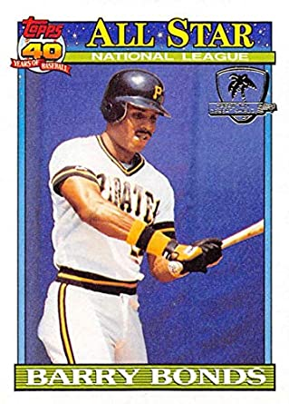 c75a64d1ce8 1991 Topps Desert Shield Baseball  401 Barry Bonds AS Pittsburgh Pirates  Official MLB Trading Card