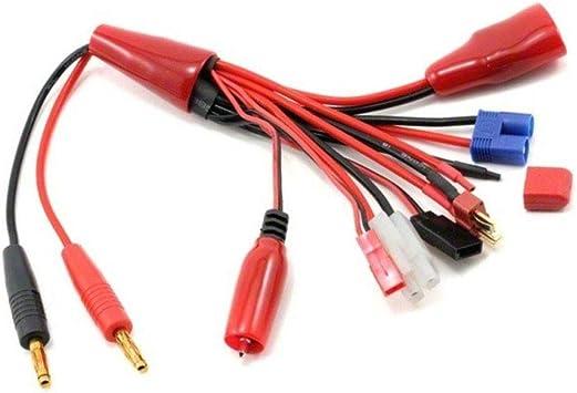 LWYANG 8 en 1 Cable de Carga multifunción T Futaba TRX ...