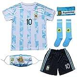 BIRDBOX 2021 Home Blue #10 Lionel Messi Kids Soccer