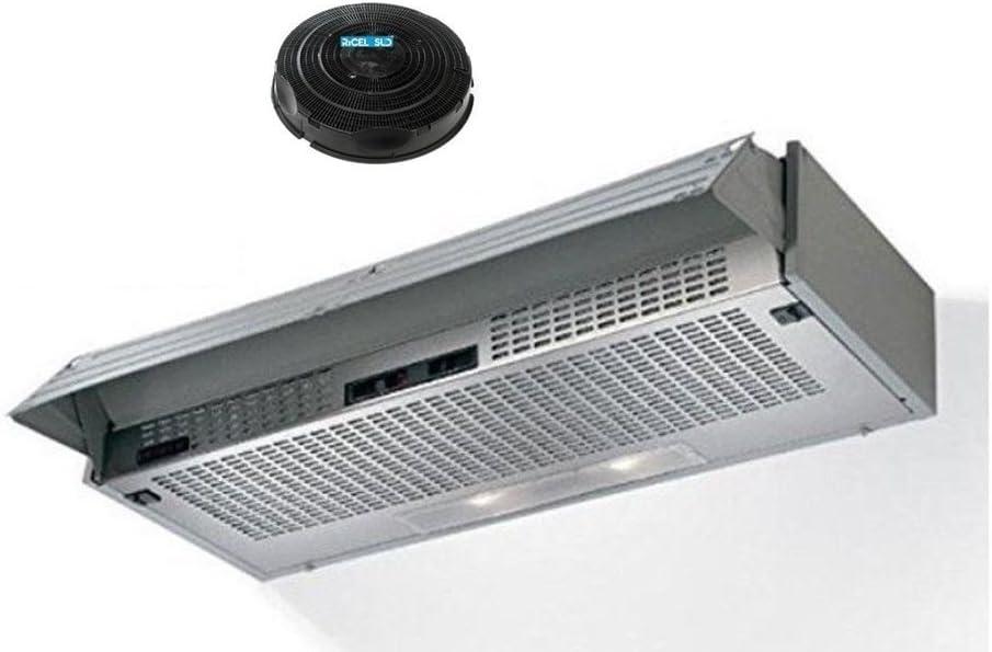 Elica campana extractora extraíble filtrante cm 90 con filtros compresi F 22: Amazon.es: Hogar