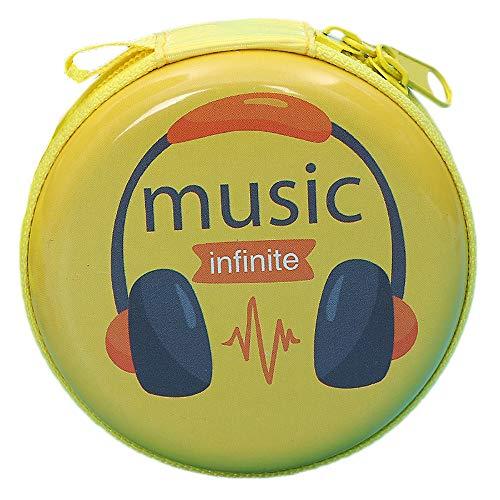 - ❤️Byedog❤Mini Zipper Earphone Headphone SD Card Storage Bag Box Carrying Pouch (D)