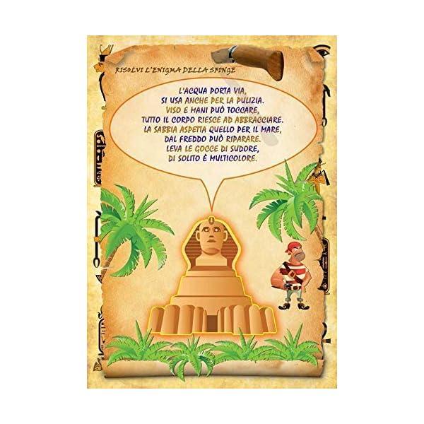 Caccia al tesoro in scatola in giardino - in spiaggia o casa/giardino 7-12 anni - per feste di compleanno - giochi per… 7 spesavip