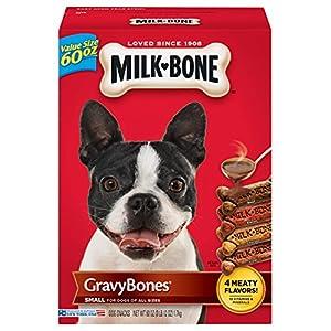 Milk-Bone Gravy Bones Dog Biscuits – Small, 60 Oz (3 Pack)