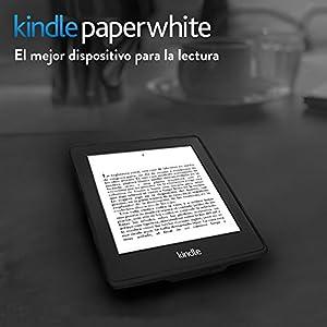 """Kindle Paperwhite (6ª generación), pantalla de 6"""" (15,2 cm) de alta resolución (212 ppp) con luz integrada, wifi"""