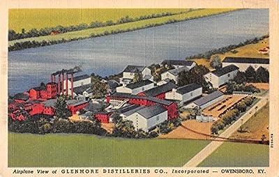 Glenmore Distilleries Co., Owensboro, Kentucky Antique Postcard T2491