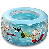 LQQGXL,Bath Children's Inflatable Pool Ocean Pool Oversized Baby Bathtub Inflatable bathtub ( Color : Blue )