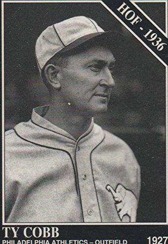 1994 Sporting News Ty Cobb Athletics HOF 1936 Baseball Card #1011
