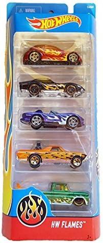 Hot Wheels - HW Flames 5-Pack by Mattel: Amazon.es: Juguetes y juegos