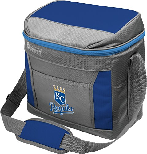 MLB Unisex Coleman 24 Hour - 16 Can Soft Sided Cooler - Kansas City Royals