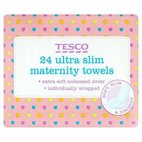 Tesco Ultra Maternity Towels X24 Brand Tesco