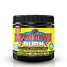 Mammoth Nutrition - Mammoth Burn - Thermogenic Fat Burner Weight Loss Supplement (Green Apple, 60 Servings)