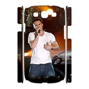 I-Cu-Le Adam Levine Customized Hard 3D Case For Samsung Galaxy S3 I9300
