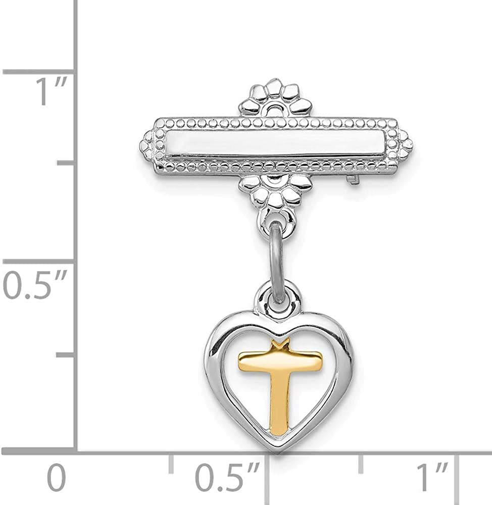 925 Sterling Silver Vermeil Cross Religious Pin Necklace Pendant Charm Latin Fine Jewelry Gifts For Women For Her