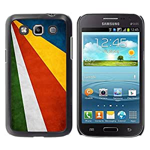 Paccase / SLIM PC / Aliminium Casa Carcasa Funda Case Cover - National Flag Nation Country Seychelles - Samsung Galaxy Win I8550 I8552 Grand Quattro