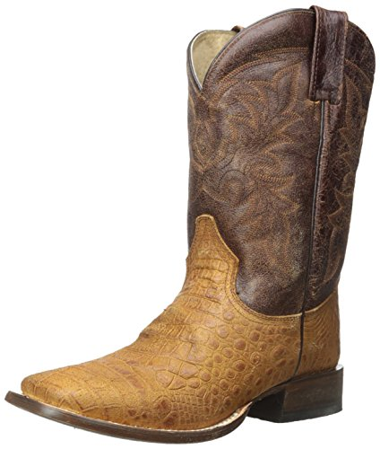 Roper Menns Coco Magen Riding Boot Brown