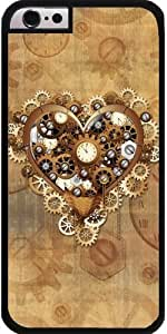 Case for Iphone 6 (4,7 '') - Heart Love Steampunk Style by ruishername