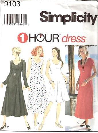 Buy bell sleeve dress sewing pattern - 9