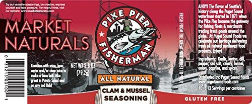 Market Naturals Pike Pier Fisherman Clam & Mussel Seasoning