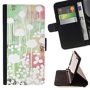 Momo Phone Case / Flip Funda de Cuero Case Cover - Luz brillante Arte Minimalista verde - LG G4c Curve H522Y (G4 MINI), NOT FOR LG G4