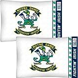 NCAA Notre Dame Fighting Irish Set of Two Pillowcases