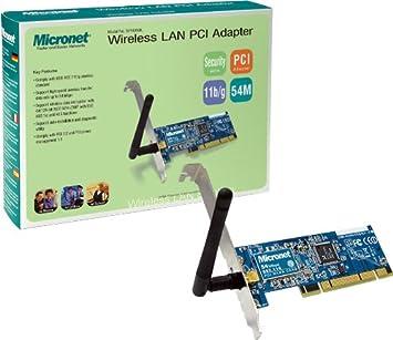 MICRONET WIRELESS LAN CARD WINDOWS 7 64BIT DRIVER