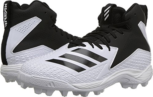 new products 9afe4 dceaa adidas Freak Mid MD Wide J Football Shoe FTWR White, core Black, 1.5 M US  Little Kid