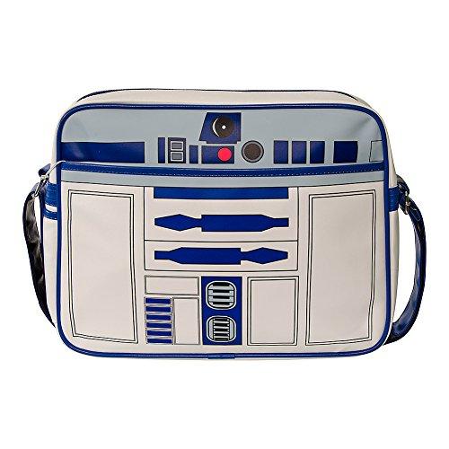 Messenger Bag R2D2 Retro Star Wars (Bianco)