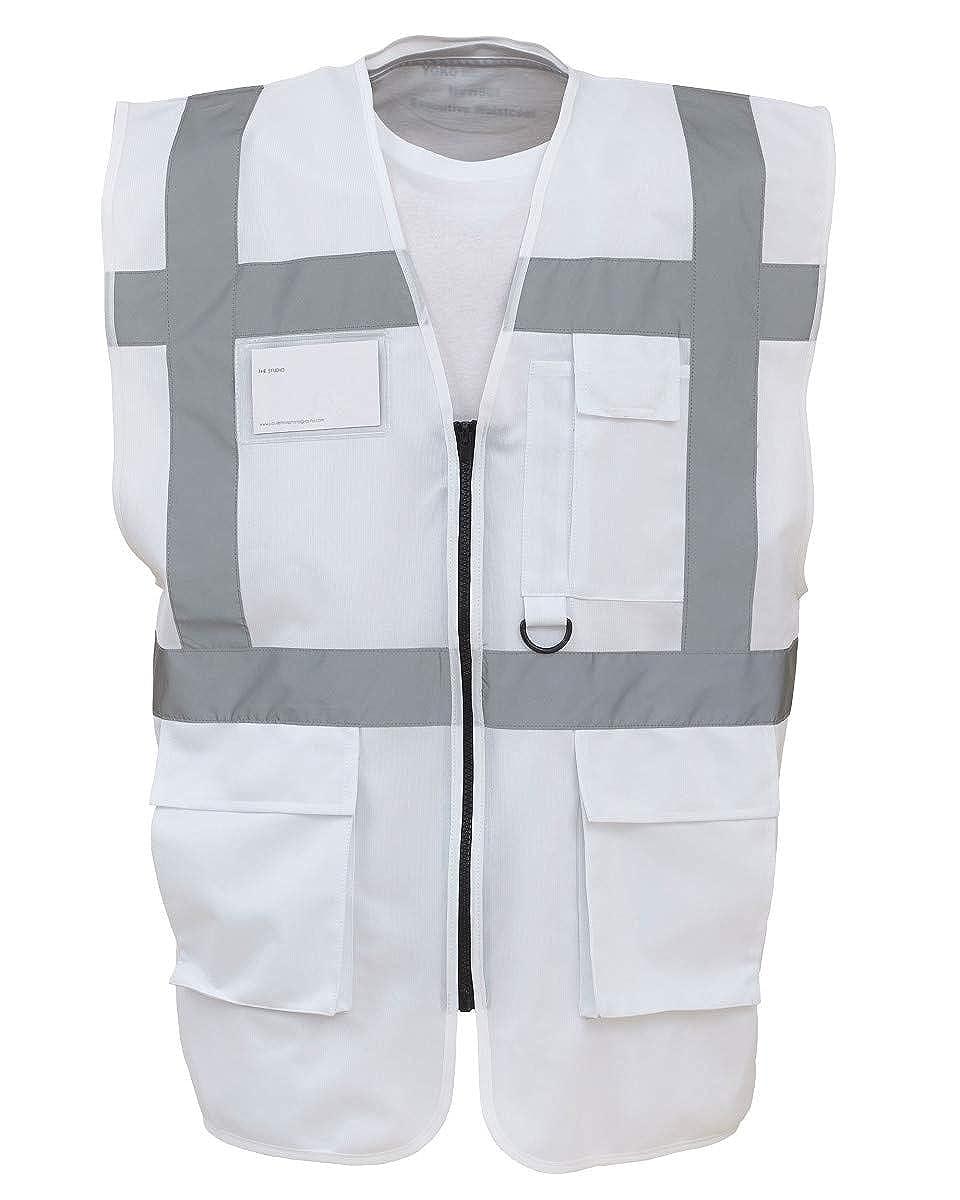 Yoko Hi-Vis Premium Executive//Manager Waistcoat//Jacket