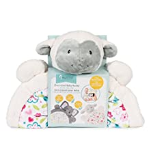 Baby's First by Nemcor Tummy Time Play Mat with Bonus Milestone Stickers-Lamb