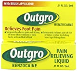 Outgro Pain Relieving Liquid with Brush Applicator, 0.31 Ounce