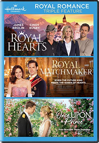 Royal Romance Triple Feature (Royal Hearts / Royal Matchmaker / Once Upon a - Romance Movies Dvd