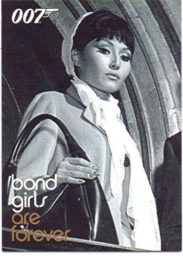 Rittenhouse James Bond Heroes & Villains Bond Villains Bond Girls are Forever Card #BG73 - Maryse Mitsouko, Mlle. La Porte, Thunderball ()