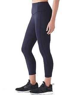 Amazon.com : Lululemon Wunder Under Crop High Rise Yoga ...