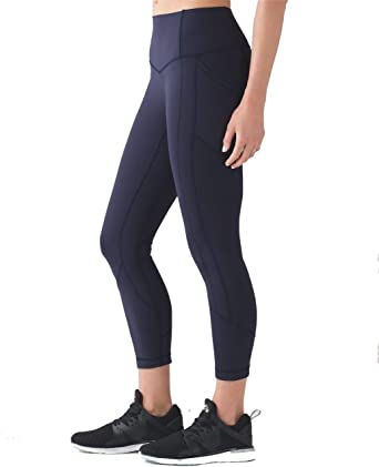Amazon Com Lululemon All The Right Places Crop Yoga Pants Clothing