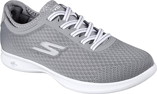 Step Lite Agile Gray Skechers Performance Walking Women's Go Shoe S4qtzw