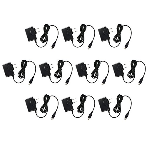 Rio Cali Mp3 Player (10 Pack Fenzer Home Wall Charger for Rio Rio Cali Sport 128 256 Carbon Chiba 128 256)