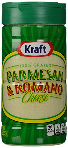 Kraft Grated Parmesan/Romano, 8 oz (Parmesan Grated)