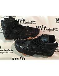 detailed look dfa90 79ec4 PSA DNA Authentic Jordan Clarkson Autograph Game Worn Nike LeBron James  VIII Basketball Shoes Size