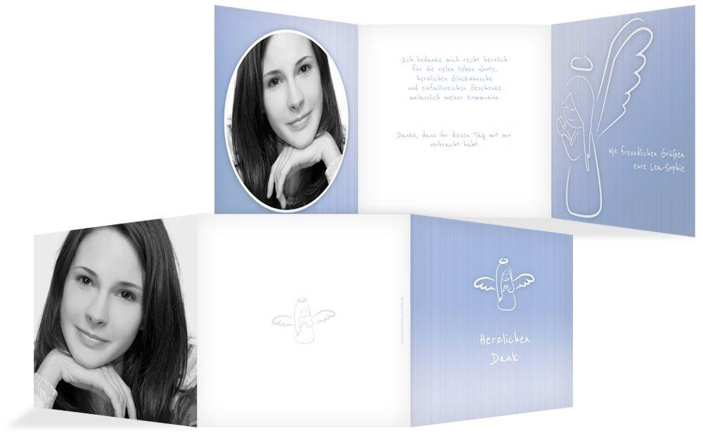 Weitere Anlässe   Dankeskarte Konfirmation_Angel   30 Karten (format  145.00x145.00mm) Farbe  Rosa B075CL32WD | Online Kaufen  | Wir haben von unseren Kunden Lob erhalten.  | Verschiedene Arten Und Die Styles