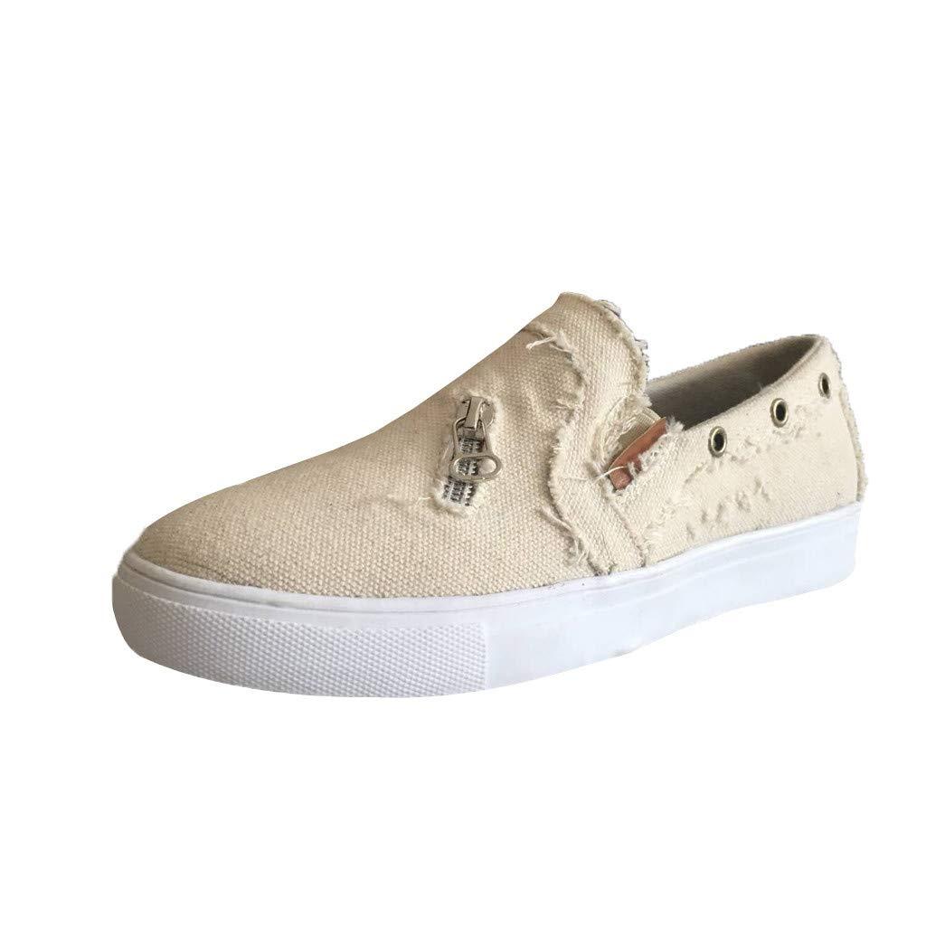 zarupeng✦‿✦ Zapatos de guisantes para mujer Zapatos solos ...